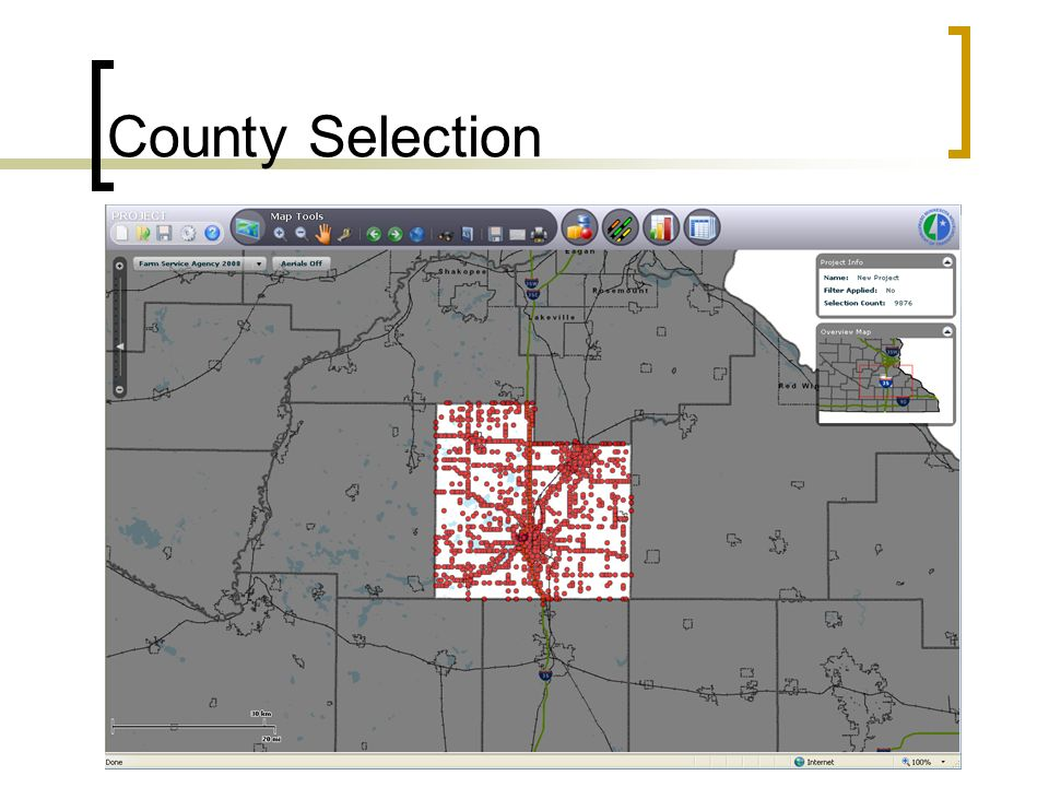 County Selection