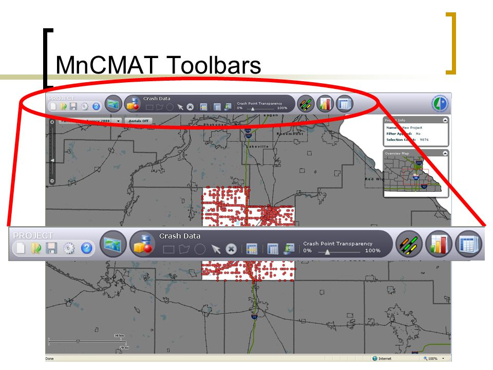 MnCMAT Toolbars