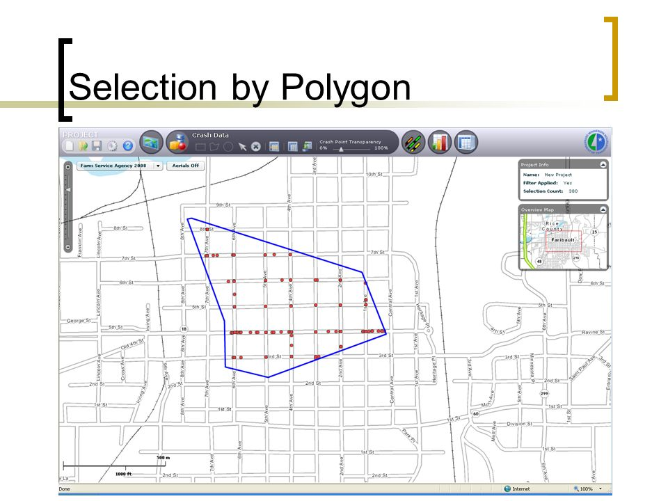 Selection by Polygon