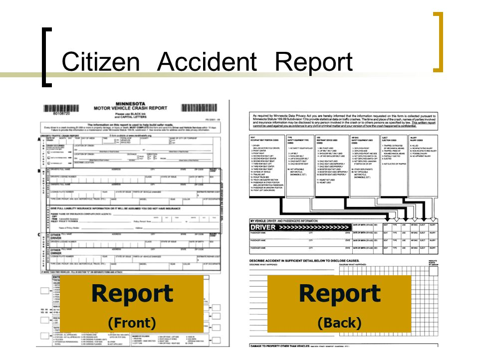 Citizen Accident Report