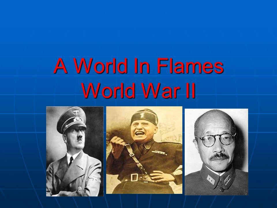 A World In Flames World War II