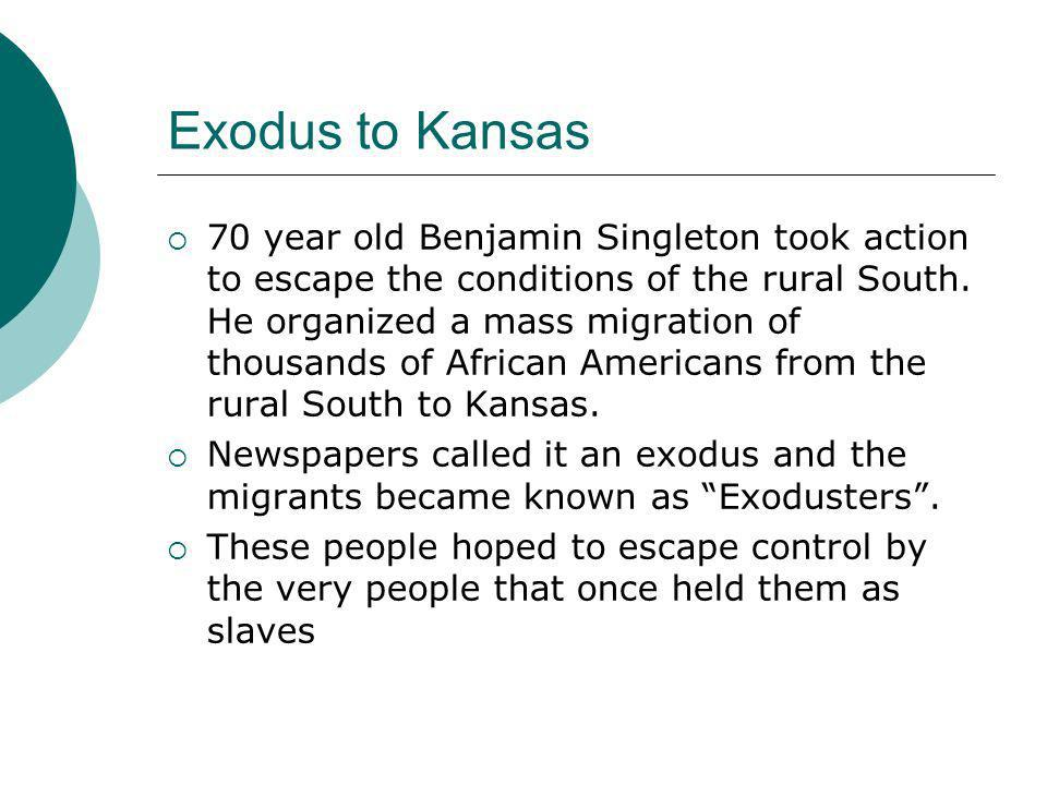 Exodus to Kansas