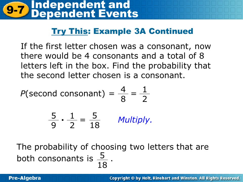 Try This: Example 3A Continued