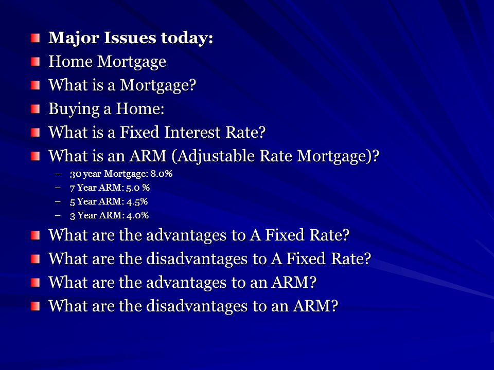 What is a Fixed Interest Rate