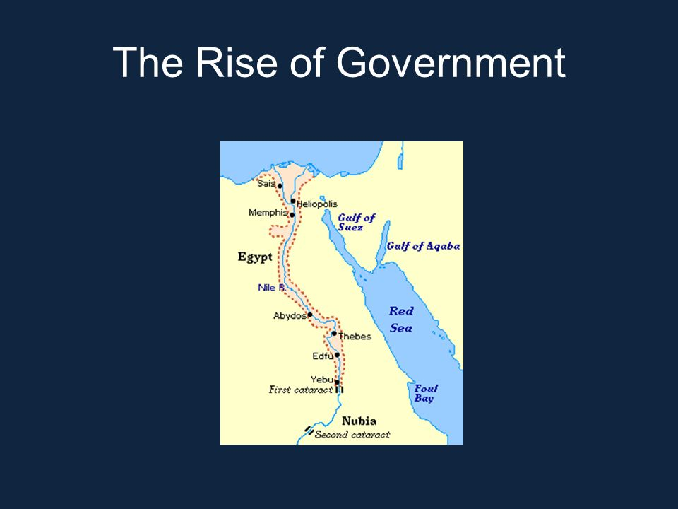 The Rise of Government