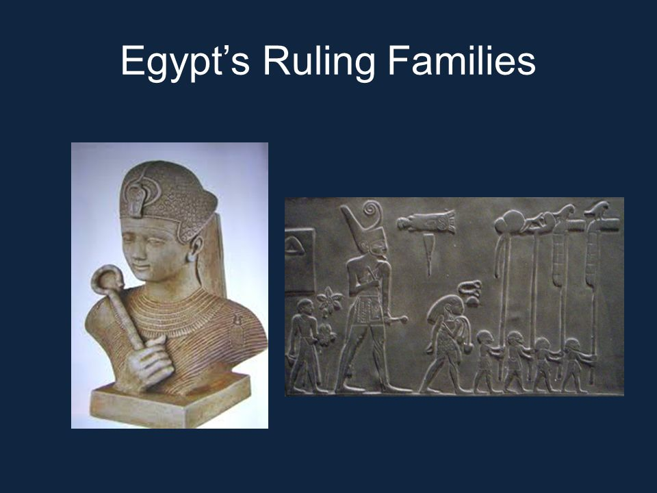 Egypt's Ruling Families