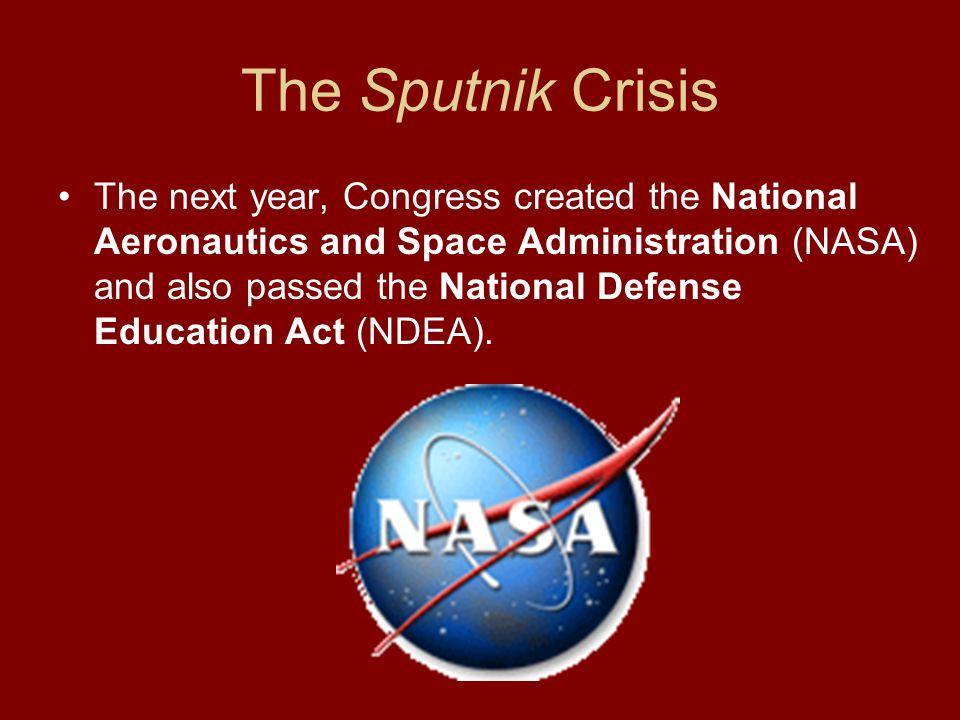 The Sputnik Crisis