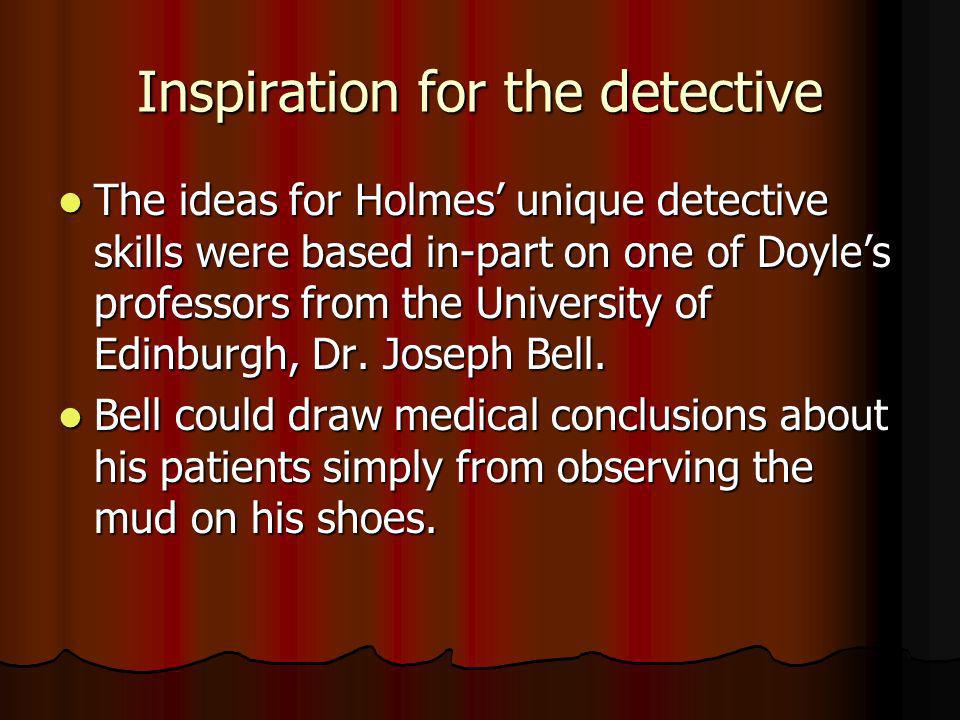 Inspiration for the detective
