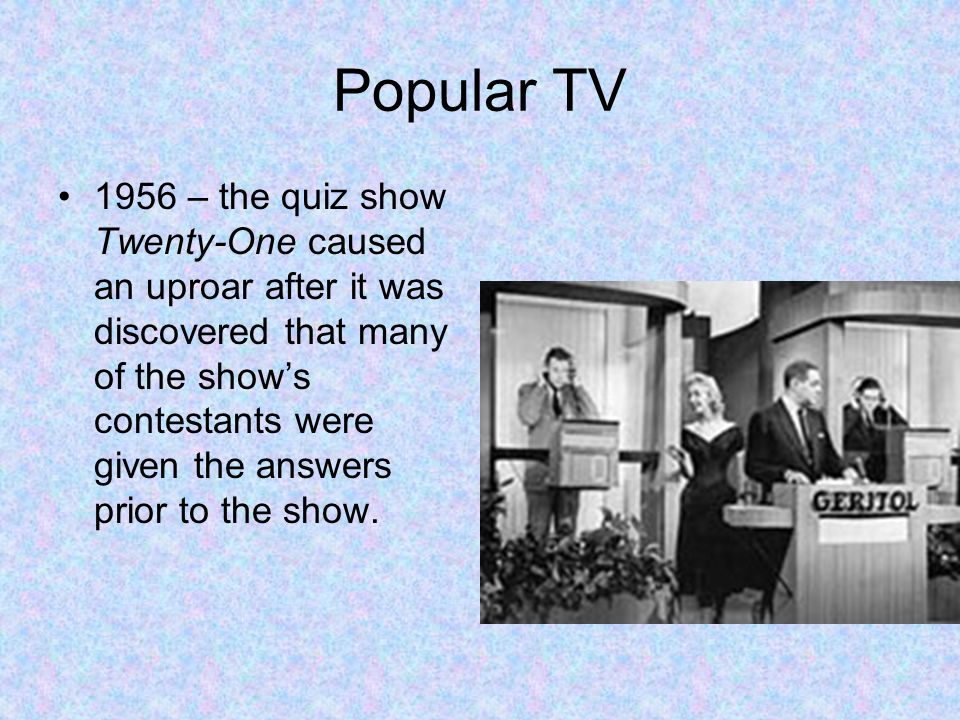 Popular TV