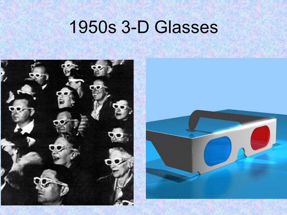 1950s 3-D Glasses