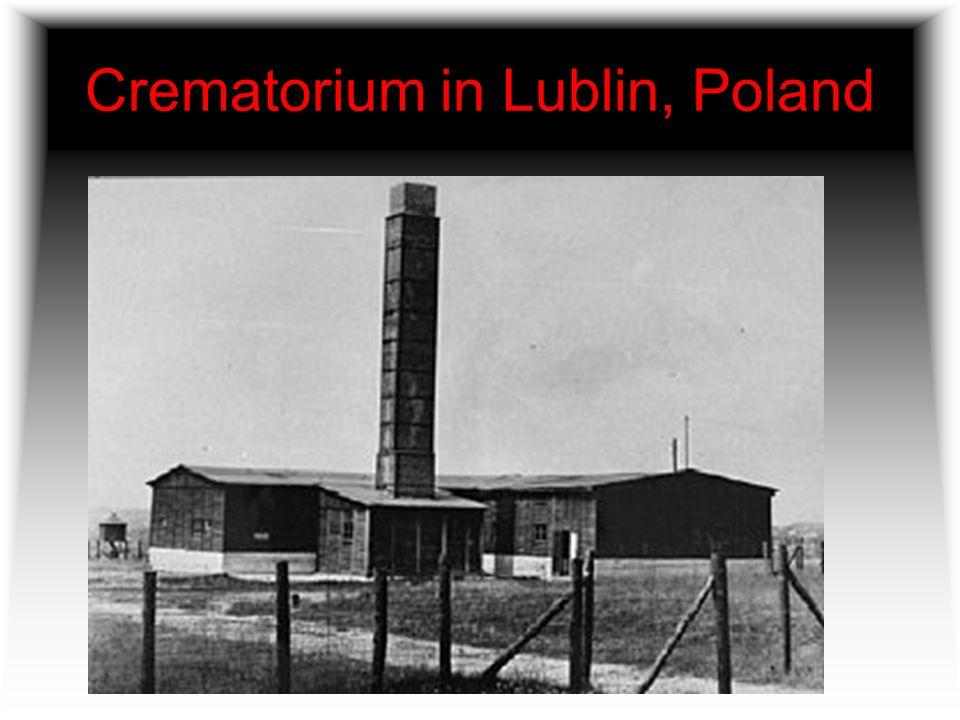 Crematorium in Lublin, Poland
