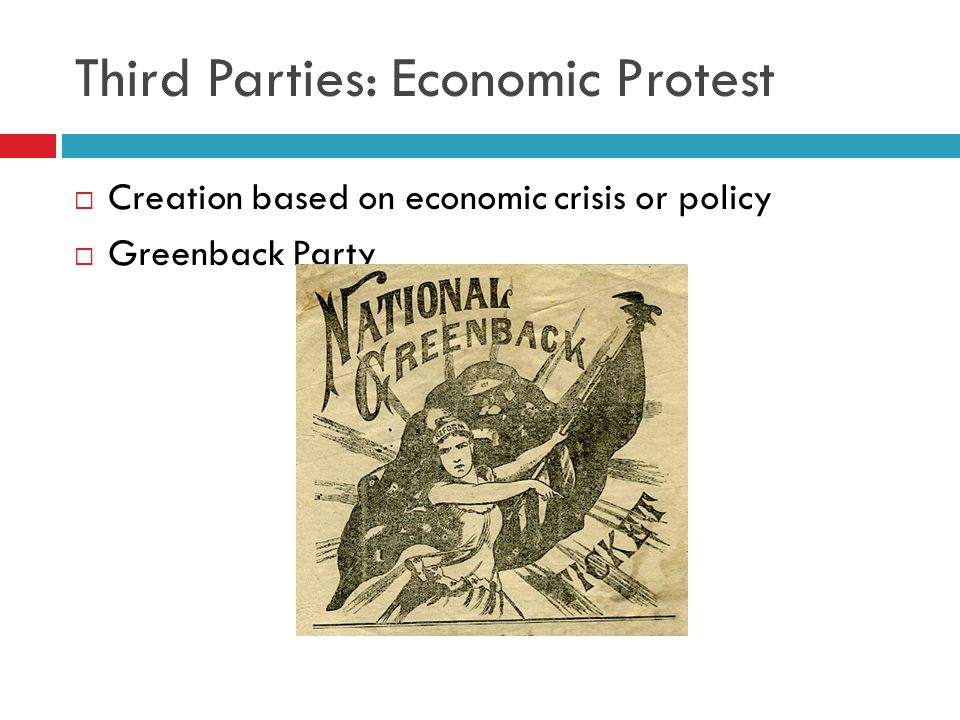 Third Parties: Economic Protest