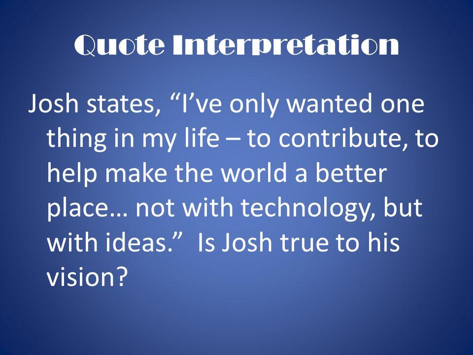 Quote Interpretation