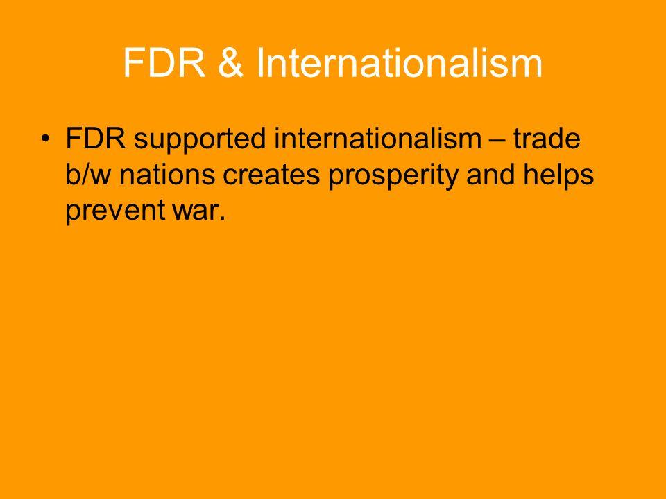 FDR & Internationalism