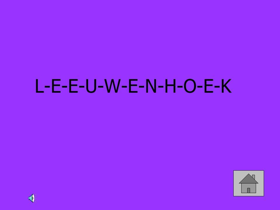 L-E-E-U-W-E-N-H-O-E-K