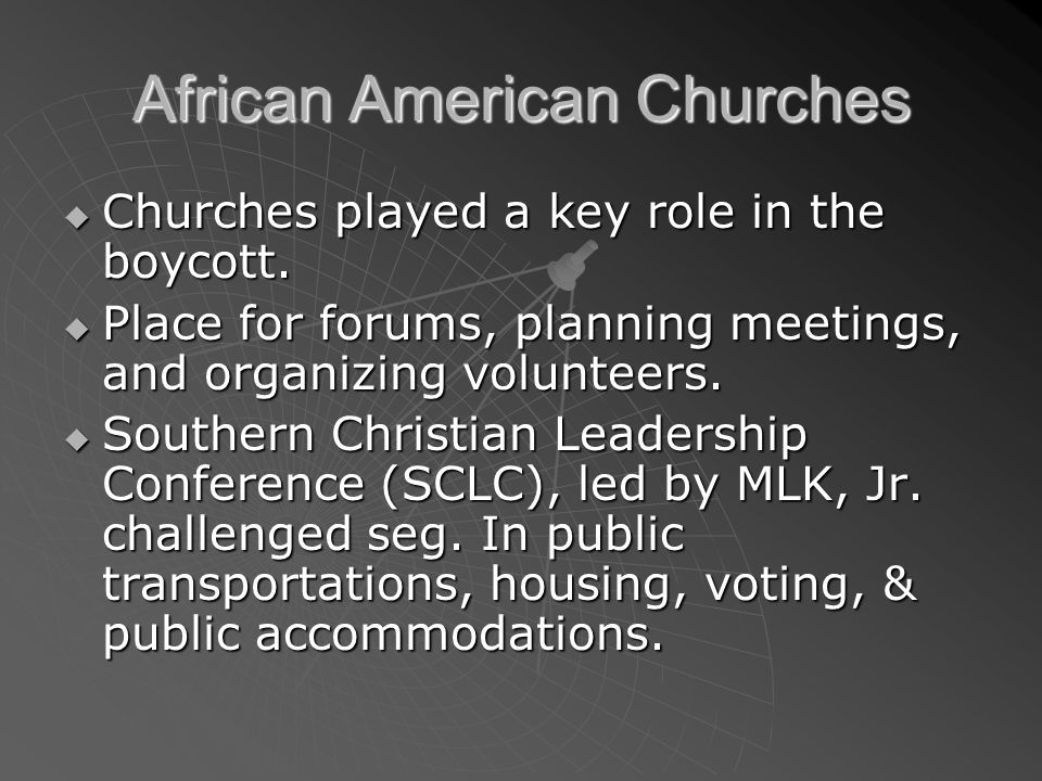 African American Churches