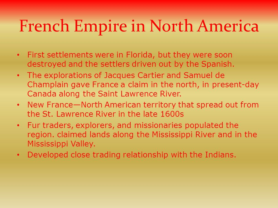 French Empire in North America