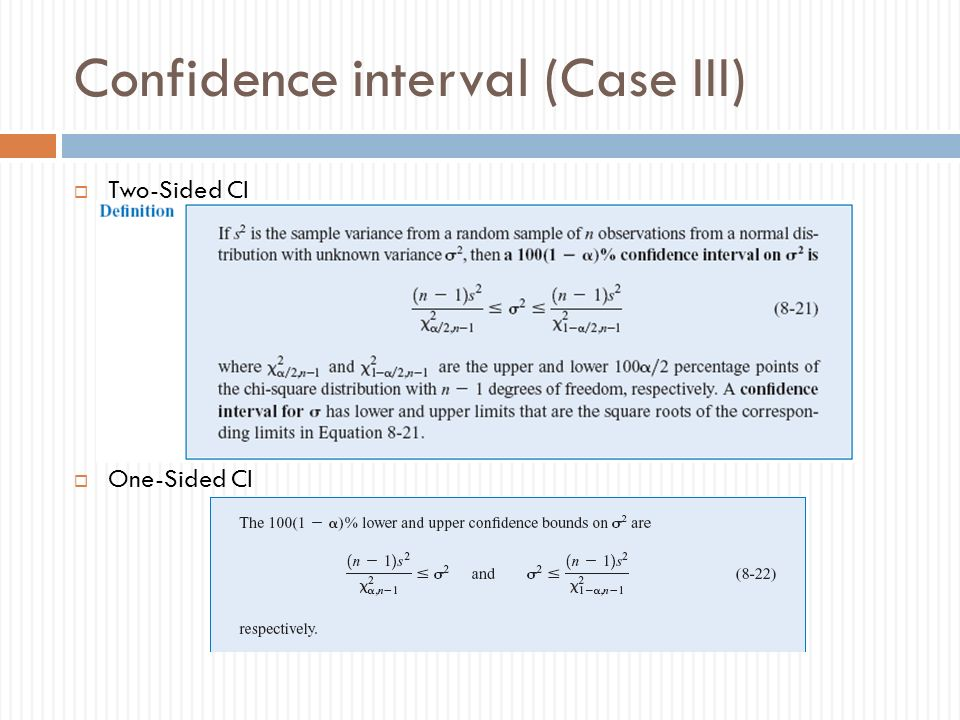 Statistical Interval for a Single Sample - ppt download