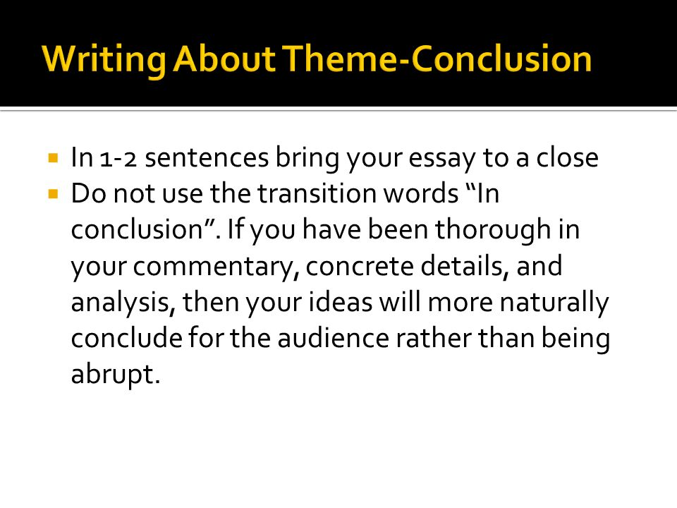 theme in literature essay A literary analysis essay example and more a literature essay definition as a rule, most sources have the following definition of literary essays as pieces of.