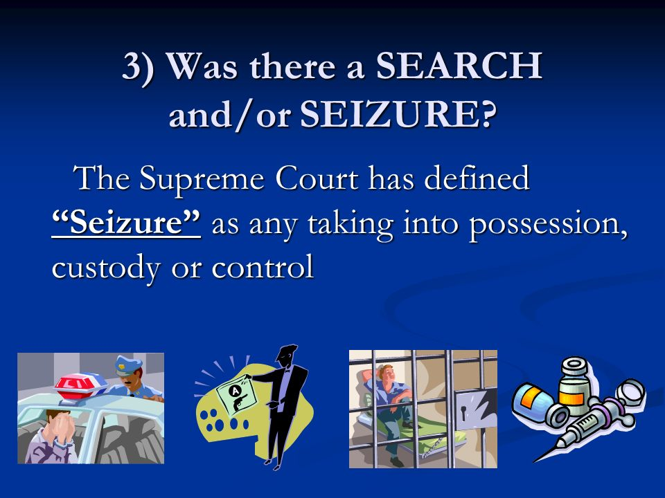 a discussion of search and seizure and its exceptions to warrant requirement Search and seizure in washington source: tell students there are many exceptions to the search warrant requirement in washingtonstate allow up to 15 minutes for group responses and discussion let students know that in this case, state v.