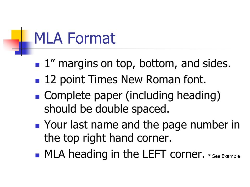 MLA Format 1 margins on top, bottom, and sides.