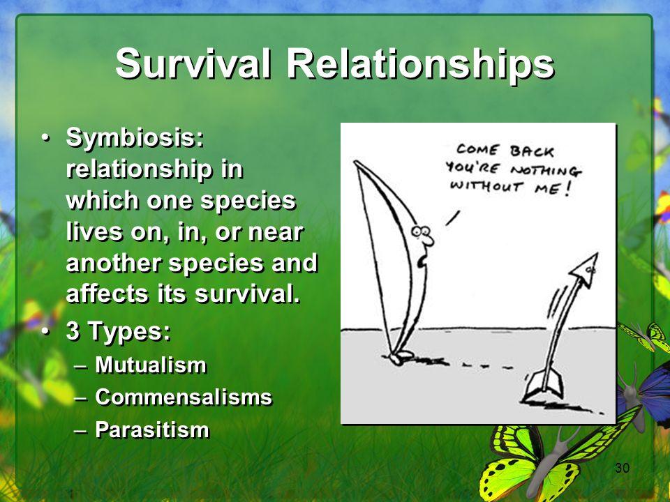Survival Relationships