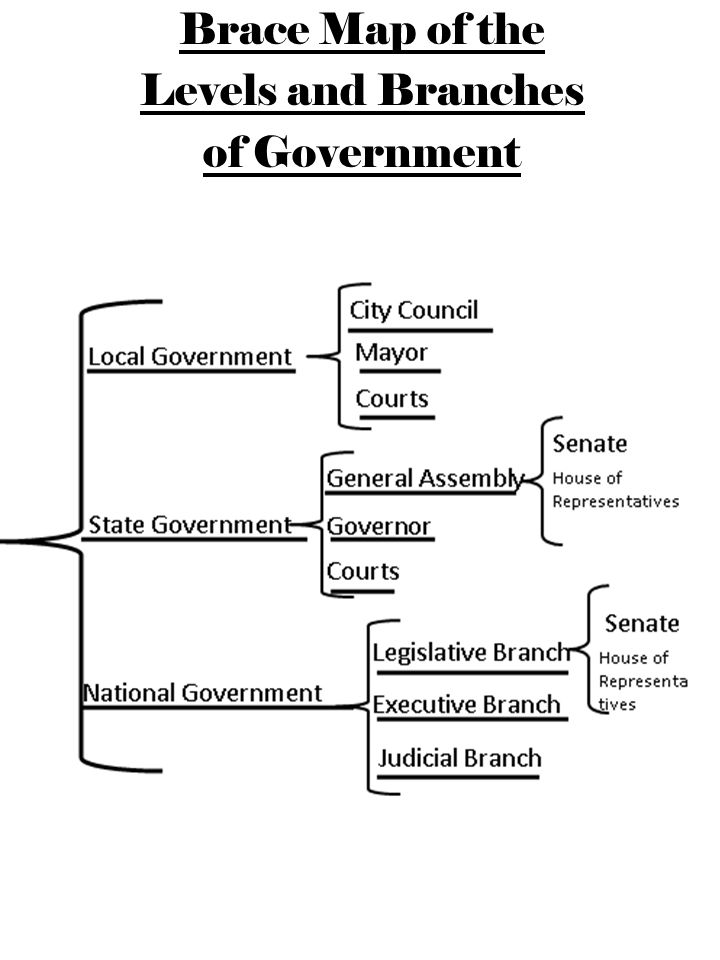There are different levels of the government ppt