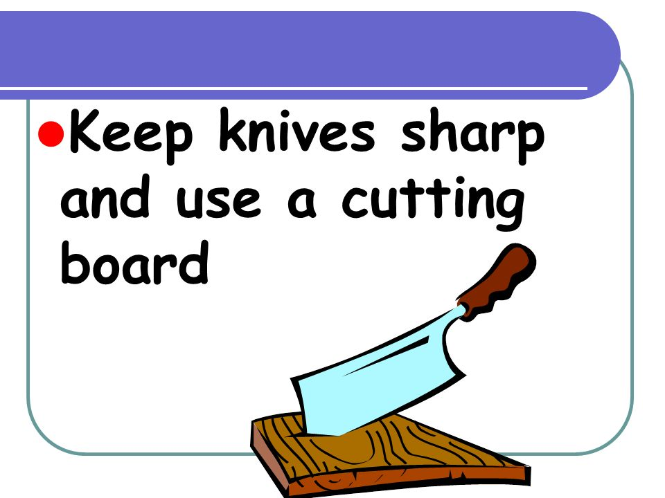Kitchen Safety To Live By Rules Ppt Video Online Download