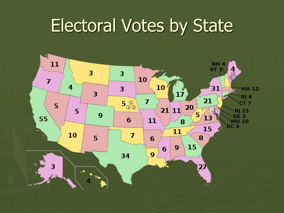 Electoral Votes by State