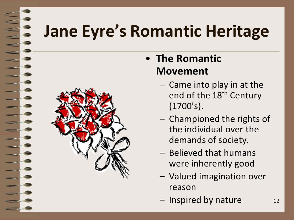 Jane Eyre's Romantic Heritage