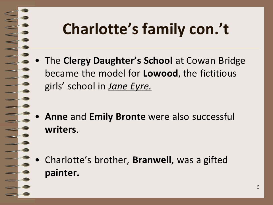 Charlotte's family con.'t