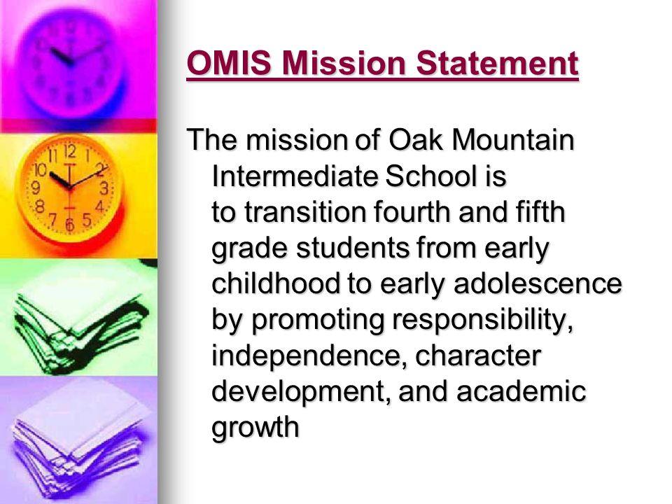 OMIS Mission Statement