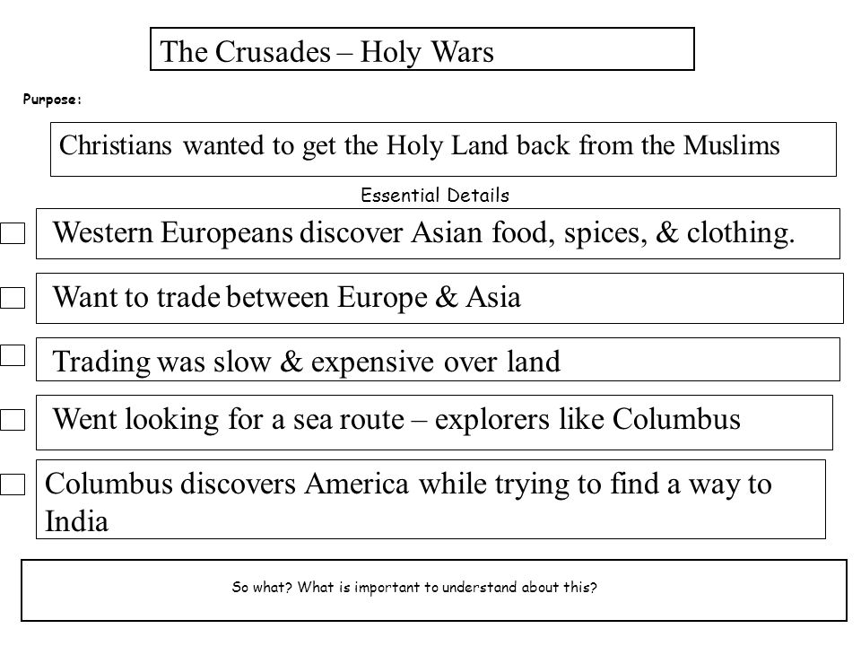 The Crusades – Holy Wars