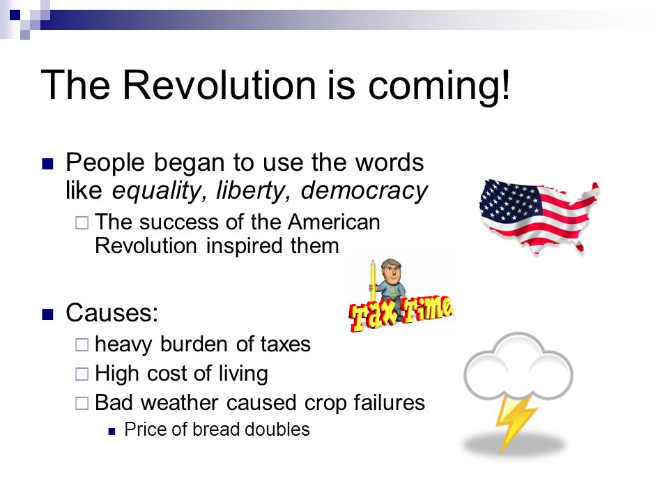 The Revolution is coming!