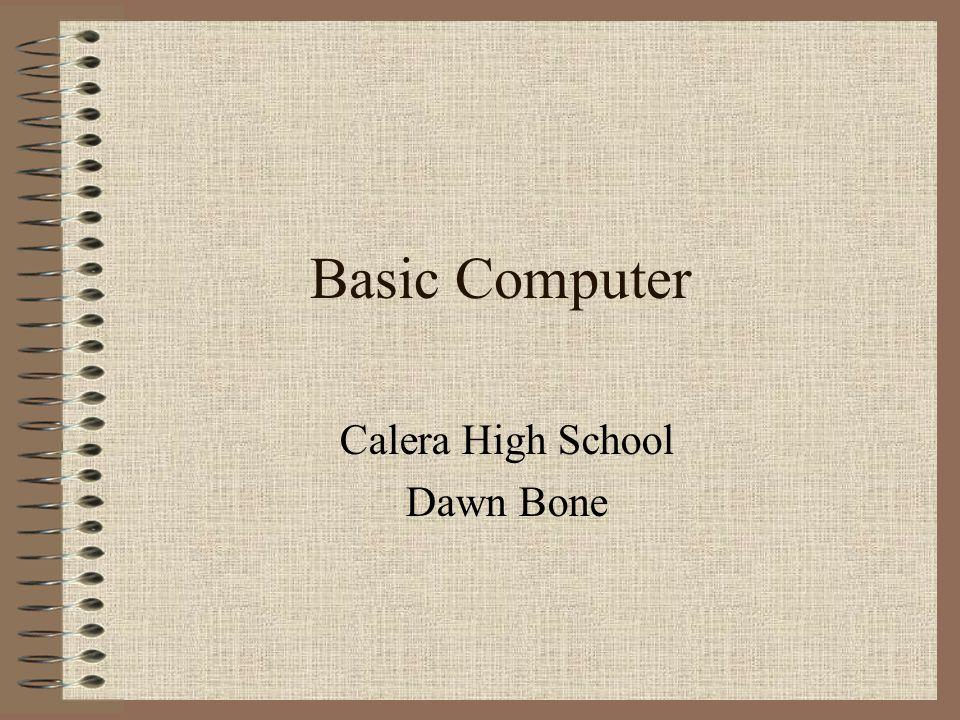 Calera High School Dawn Bone
