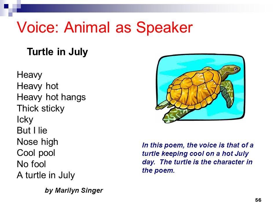 Voice: Animal as Speaker