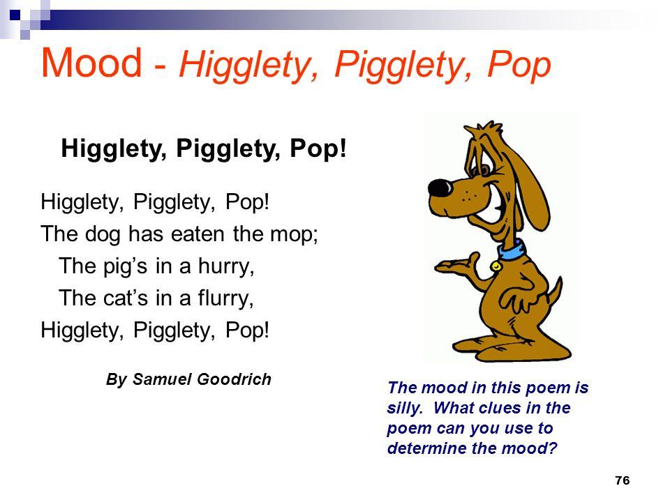 Mood - Higglety, Pigglety, Pop