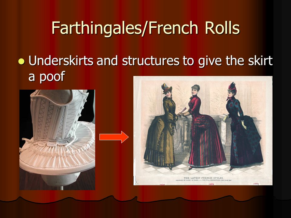 Farthingales/French Rolls