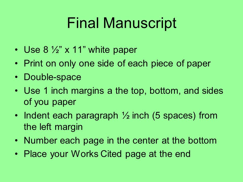 margins for a research paper Research guides apa margins all margins (top  appendices are pages at the end of the paper (after the references).