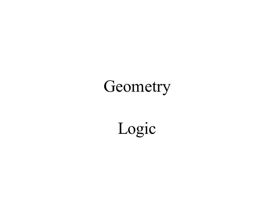 Geometry Logic
