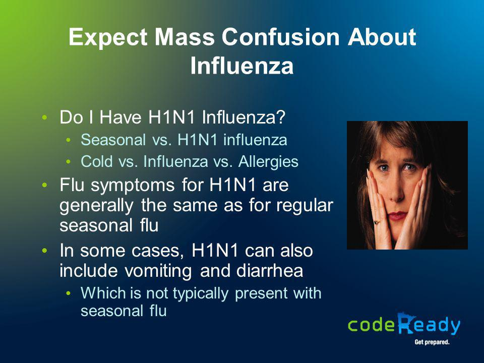 Expect Mass Confusion About Influenza