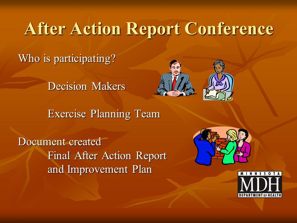 After Action Report Conference
