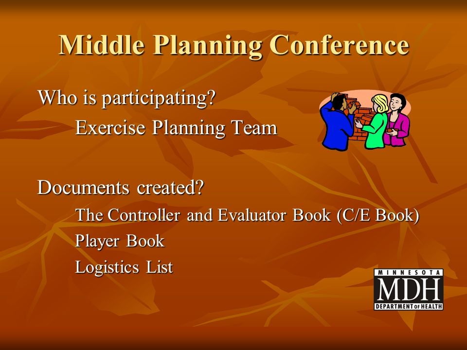 Middle Planning Conference