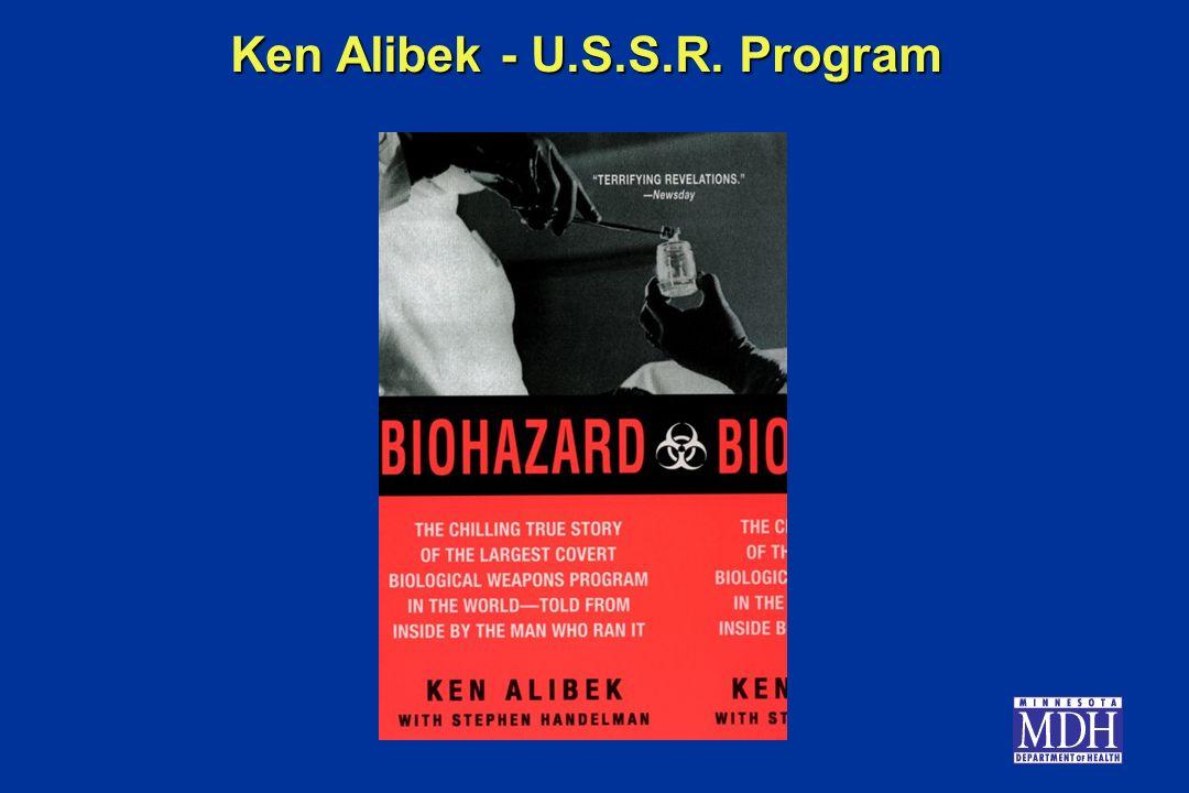 Ken Alibek - U.S.S.R. Program