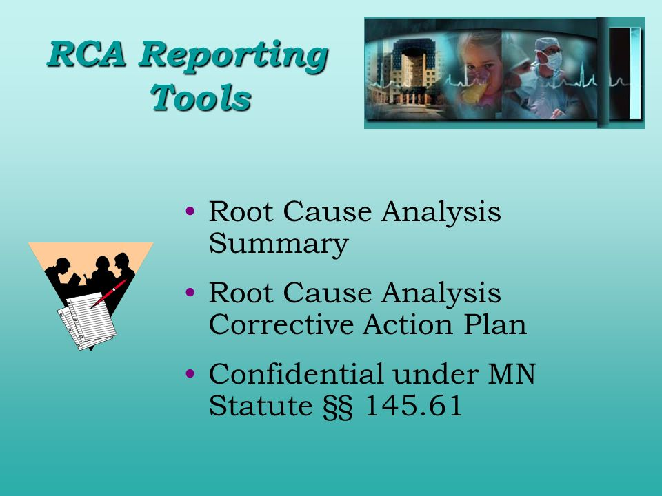 RCA Reporting Tools Root Cause Analysis Summary