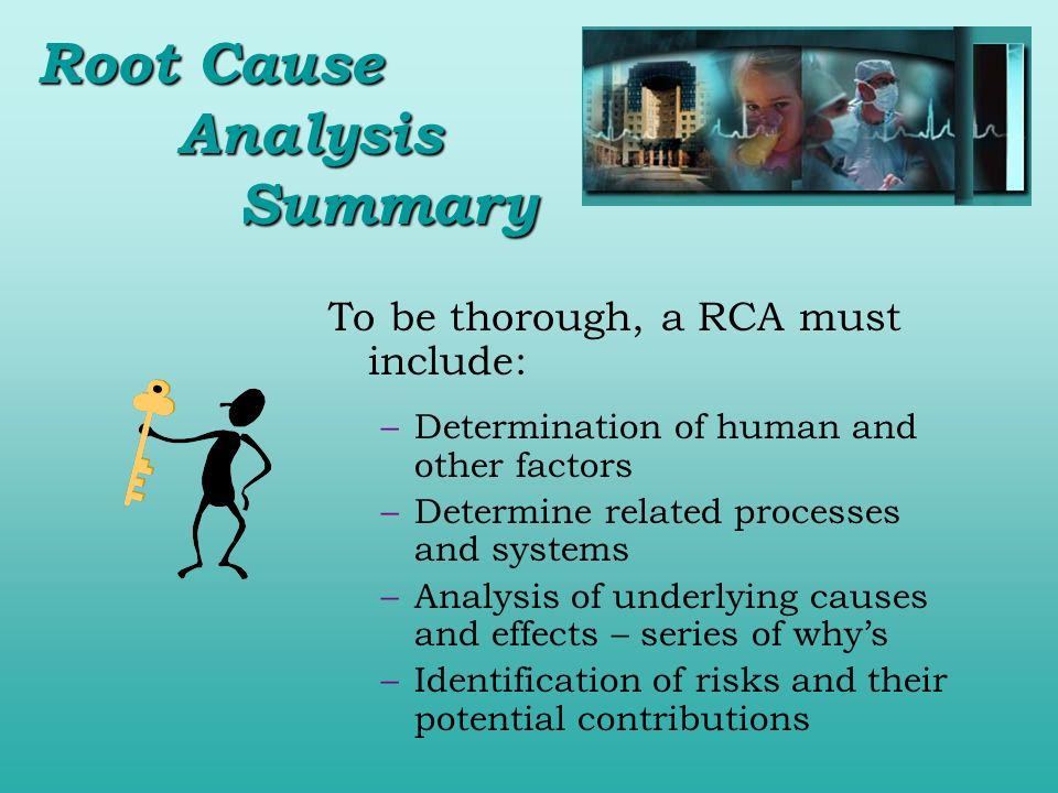 Root Cause Analysis Summary