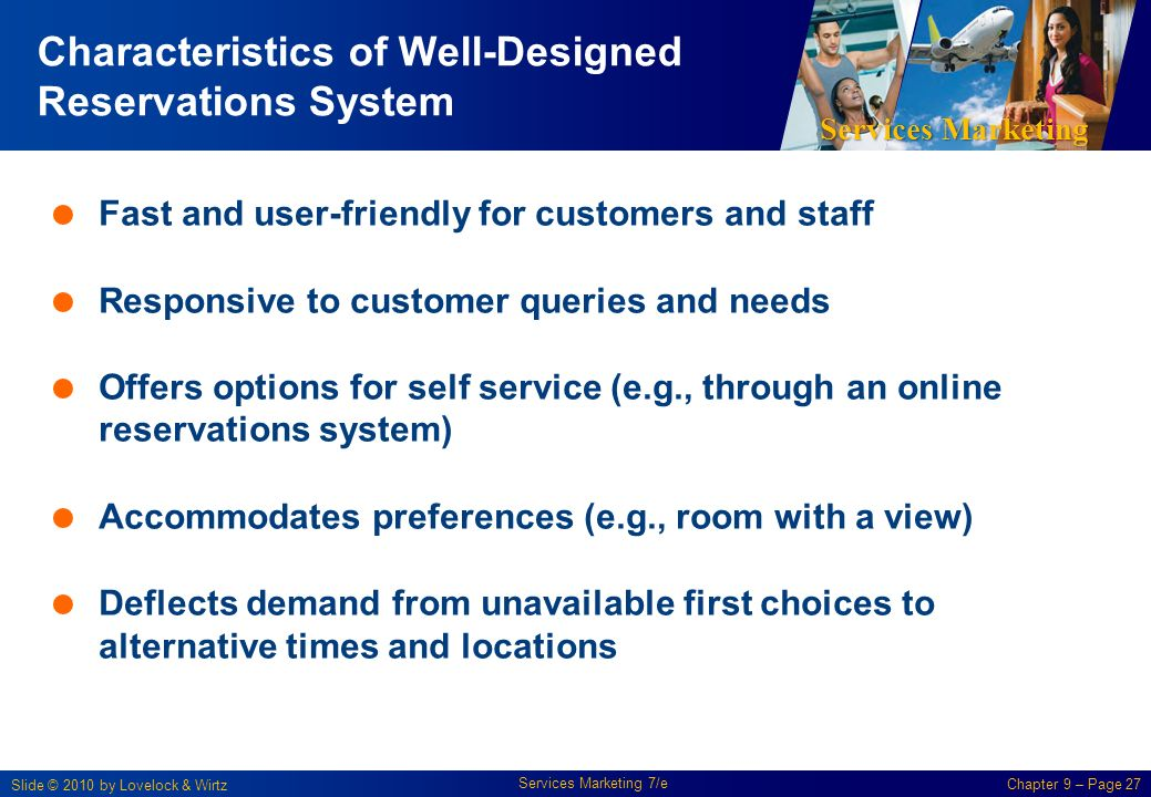 the characteristics of well designed service system Of jobs in order to satisfy technological and organizational requirements as well as the social and personal  (initial analysis of system inputs,  job design.