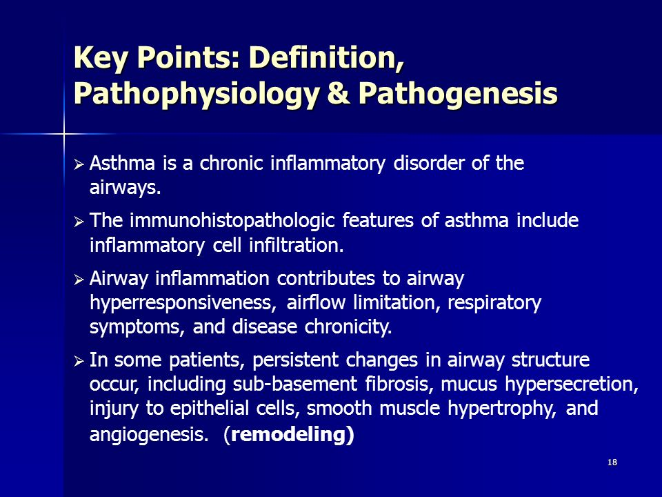 Key Points: Definition, Pathophysiology & Pathogenesis