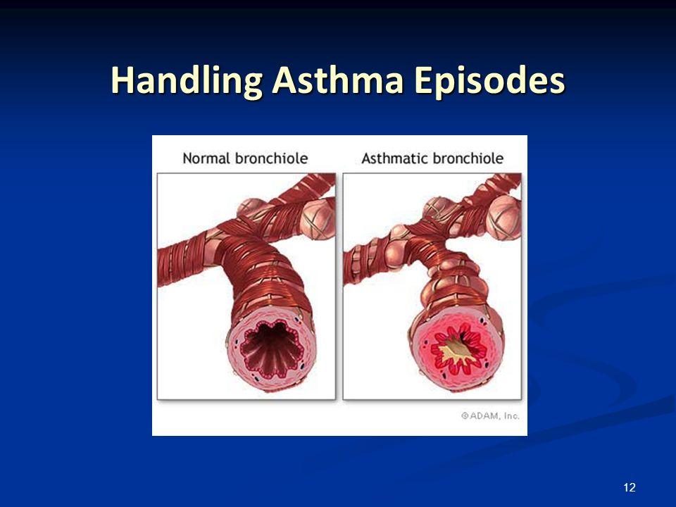 Handling Asthma Episodes
