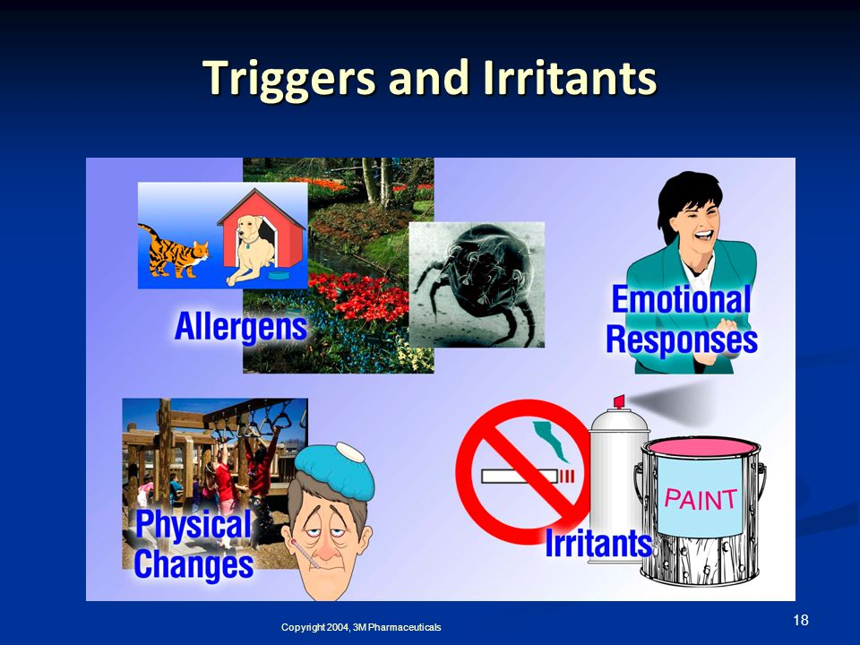 Triggers and Irritants